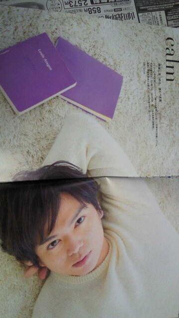 加藤シゲアキ'17.2.18「ザテレビジョンCOLORS」  8ページ  < タレントグッズの