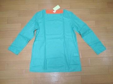 新品ポールスミスPaul Smithメッシュ地カットソーL緑系シャツ