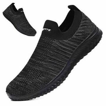 色ブラック/グレー-2 サイズ27.5 cm [MISIKEKE] 安全靴 ナースシ
