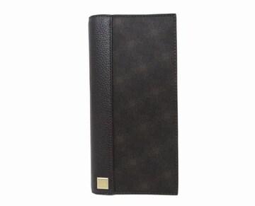 ダンヒル  d-eight メンズ 二つ折り長財布 ブラウン 未使用 送料無料