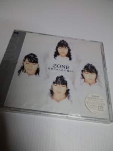 新品初回盤ZONEシングル 世界のほんの片隅から  < タレントグッズの