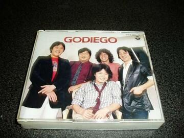 CD「ゴダイゴ/GODIEGO」2枚組 SUPER TWIN DX ベスト 90年盤 即決