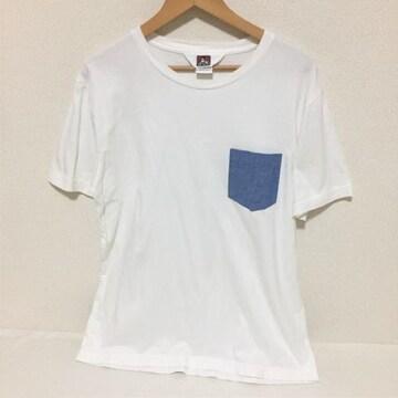 #BEN DAVIS ベンデイビスデニムポケットTシャツ