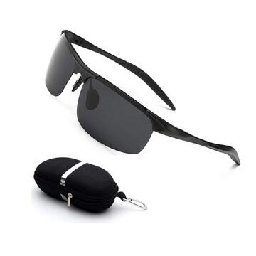 超軽量 スポーツ 偏光レンズ サングラス UV400 B