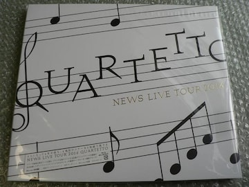 NEWS/LIVE TOUR 2016 QUARTETTO【初回盤】Blu-ray:4枚組/新品