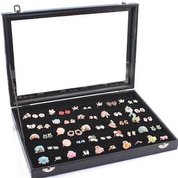 リングケース 指輪 ベロア調 ピアスケース 100個