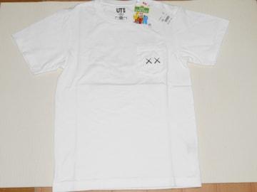 UNIQLO カウズ×セサミストリート 半袖Tシャツ ホワイト XS