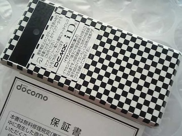 N-07A/N07A☆*彡  新品未使用*☆*。.:*希少なチェッカー色★