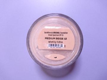 ベアミネラル■ファンデーション/mediu beige 8g